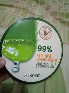 Aloevera gel 99% by the saem