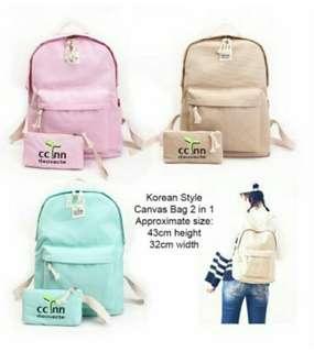 Korean Style Backpack