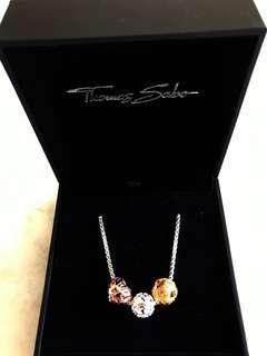 Thomas Sabo Karma necklace and 3 beads brand new