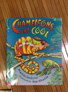 🚚 Chameleons are cool by Martin Jenkins (Scholastic)