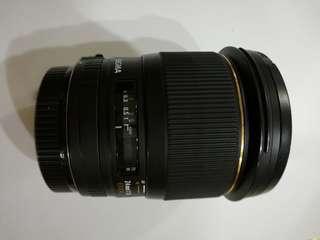 Lens sigma 24mm f1.8 canon mount EX DG