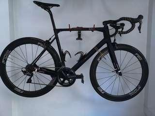 Neilpryde Bura SL, 58, brand new Ultegra 8000, DA calipers, tubular 50mm foil carbon wheels