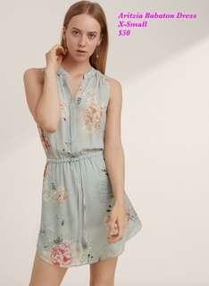 Aritzia Babaton Floral Dress