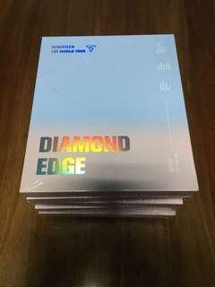[IN STOCK] 2017 SEVENTEEN 1ST WORLD TOUR (DIAMOND EDGE IN SEOUL) CONCERT DVD