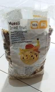 Muesli Dried Fruit