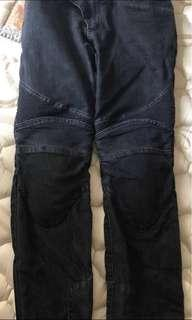Nerve rider denim with protection