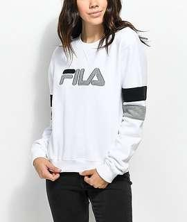 100% Authentic Fila long sleeve top
