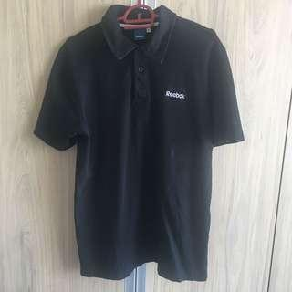 Original Reebok Black Polo Shirt