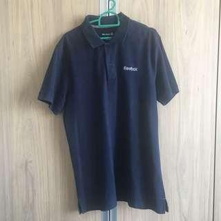 Original Reebok Navy Polo Shirt