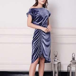 Sukithelabel velvet dress