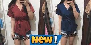 new yaaa baju nya dua2 nya beli di online shop kekecilan