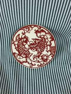 🚚 中國圖騰創意杯墊