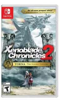 🚚 [BNIB] Xenoblade Chronicles 2 Torna the Golden Country Expansion Nintendo Switch