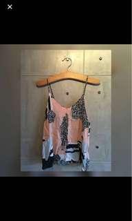 Looking for: Shopcopper Black & Salmon Patchwork Sleeveless Top