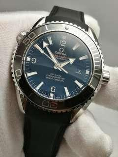 Omega Seamaster Planet Ocean 600m in Rubber