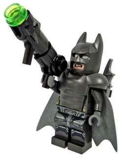 Lego Armoured Batman minifigure from DC Superheroes