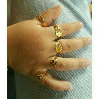Cincin budak emas 916