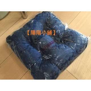 【陽陽小舖】蓬鬆款座墊 椅墊 靠墊 (35x35x10cm)(暗藍色)