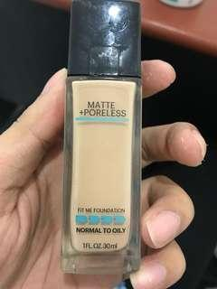 Maybelline fit me 120