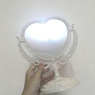 「全新」超夢幻雕刻感宮廷風 桌上鏡 立鏡 化妝鏡 鏡子