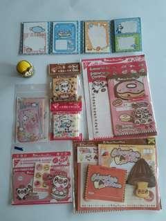 【絕版】點心熊系列- 信封,便條紙