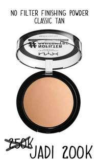 NYX No Filter Finishing Powder Classic Tan