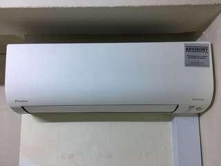 Daikin Invertor System 1 with compressor