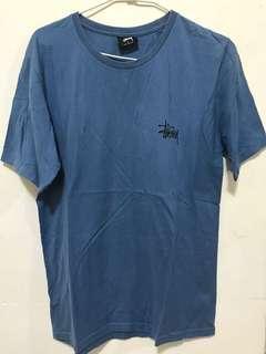 Stussy 藍色 短袖 上衣