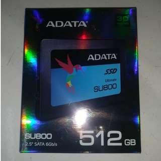 """ADATA SU800 512GB 3D-NAND 2.5"""" SATA III Internal SSD"""