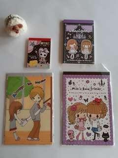 【絕版】Miki系列- 便條紙,信紙