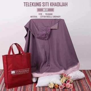 Telekung Travel Cotton siti khadijah