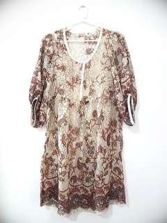 Sale!!! SHEER DRESS best for beach and parties