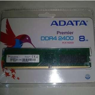 ADATA PREMIER DDR4 2400 8GB DESKTOP PC RAM (PC4-19200)