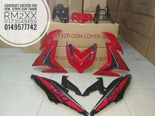 coverset exciter 150
