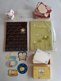 【絕版】微笑天使系列 -信紙,貼紙,名片卡