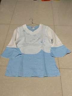 Blus katun sejenis thai silk