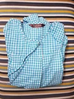 🚚 奇妮 GENNIE'S 哺乳睡衣 淺藍色