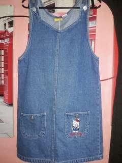 Original Hello Kitty Jumper Maong Dress