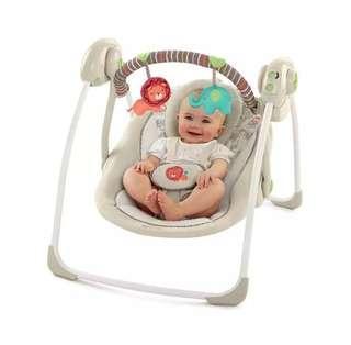 NEW Ingenuity Portable Swing Cozy Kingdom