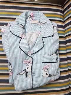 🚚 限a30502 購買 四季哺乳睡衣 月子衣 純棉 藍兔款+粉色款