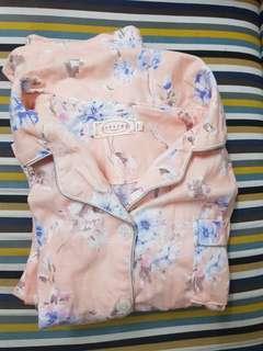🚚 四季哺乳睡衣 月子衣 純棉 粉色