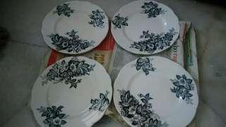 Japanese flower plates
