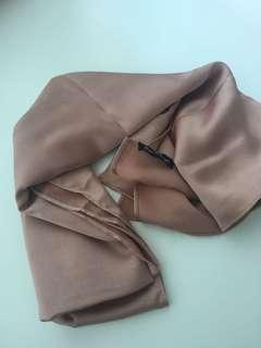 Shiny Bow & Engel Square Scarf