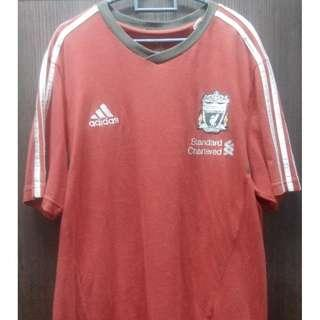 Training Wear Adidas 2011-12 Liverpool Adidas Training Tee