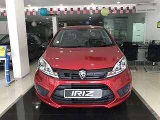*Ready Stock* Proton Iriz STANDARD AT