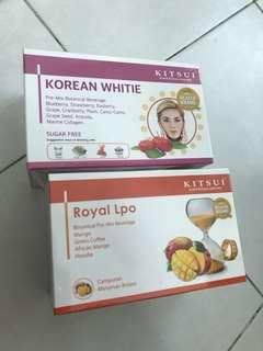 Kitsui Korean White & Royal Lpo slimming