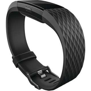 Fitbit Charge 2 Limited Edition Gunmetal Black Strap (Original) Strap Only
