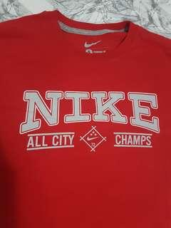 Nike top red