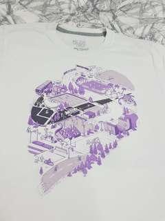 Nike top white/purple