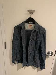Levis denim shirt, size M